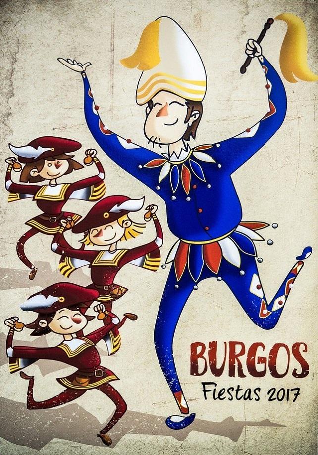 Cartel anunciado de las Fiestas de San Pedro 2017.|aytoburgos